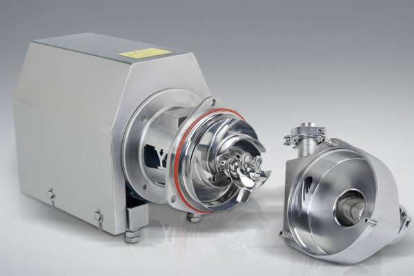 Centrifugal pump efficiency speed and water absorption capacity