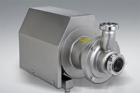 Selection and installation of sanitary pump