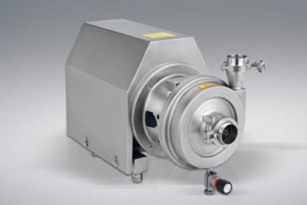 Use of sanitary centrifugal pump