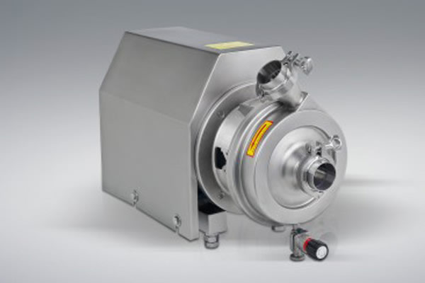 New power for sanitary pumps
