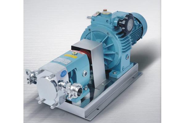 Yuy-z sanitary rotor pump