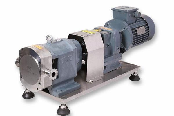Rotor pump + gear reducer